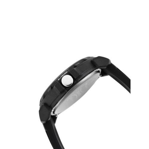 Sonata Ocean Series Men Black Digital Watch 77037PP04