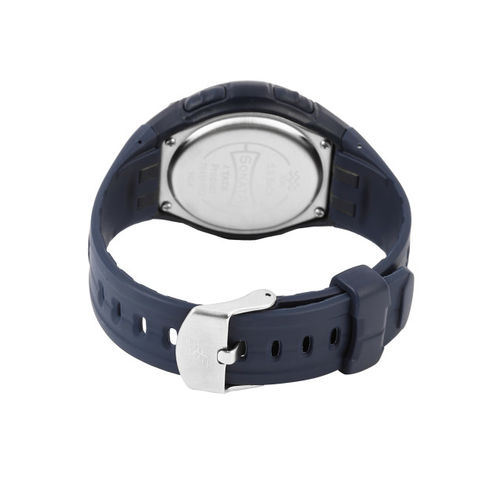 Sonata Men Navy Digital Watch NF7949PP02J