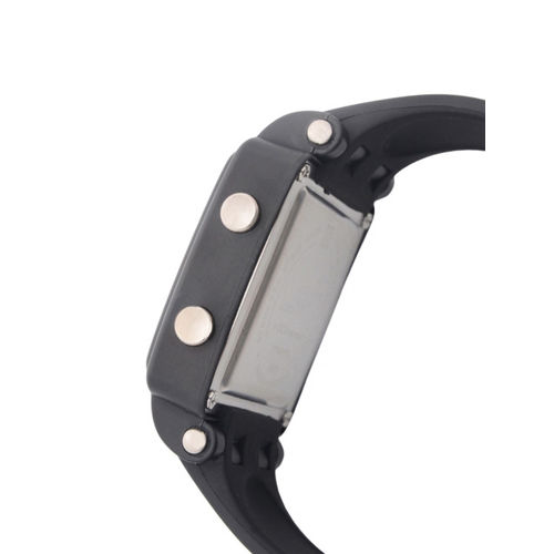 Sonata Men Black Digital Watch NH77043PP01