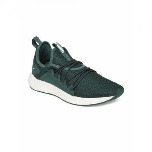 Puma Unisex Green NRGY Neko Knit Jr Running Shoes