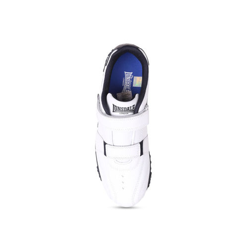Lonsdale Unisex White Synthetic Training or Gym Shoes