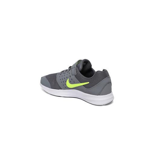 Nike Boys Grey DOWNSHIFTER 7 Running Shoes