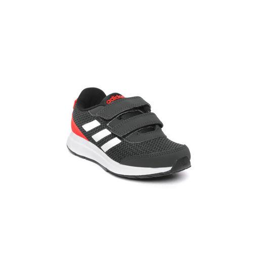 ADIDAS Kids Black Glick Running Shoes