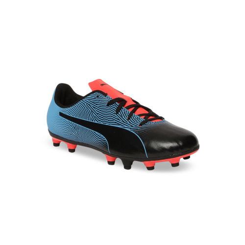Puma Unisex Black Spirit II FG Jr Football Shoes
