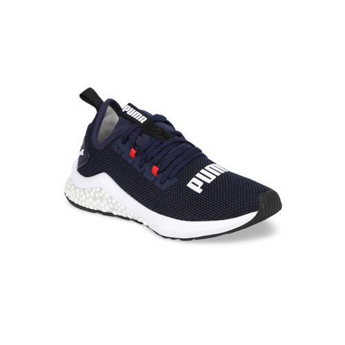 Puma Unisex Navy Blue HYBRID NX Jr Running Shoes