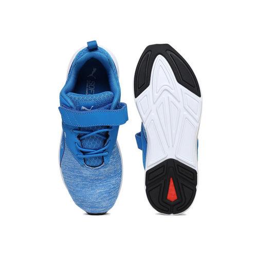 Puma Unisex Blue Running Shoes
