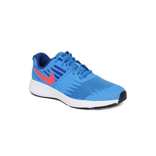 Nike Boys Blue Star Running Shoes
