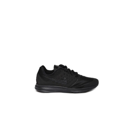 Nike Boys Black DOWNSHIFTER 7 Running Shoes