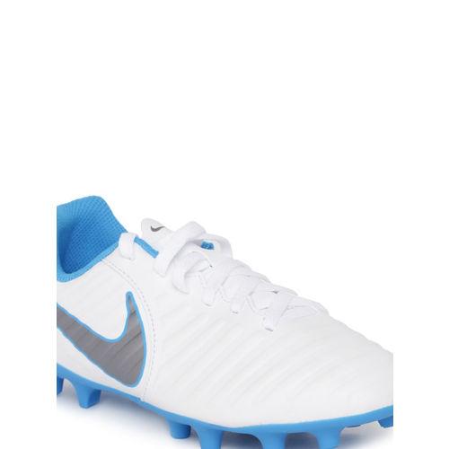 Nike Unisex White Football Shoes