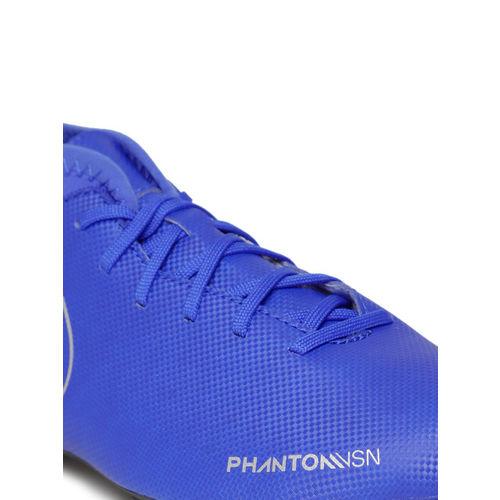 Nike Kids Blue Phantom Vision Club Dynamic Fit FG/MG Football Shoes