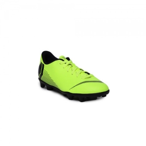 Nike Unisex Fluorescent Green JR VAPOR 12 CLUB Football Shoes