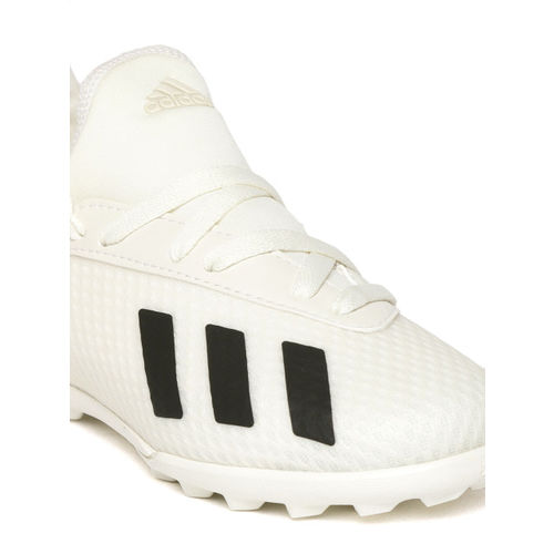 ADIDAS Boys Cream-Coloured X Tango 18.3 TF Football Shoes