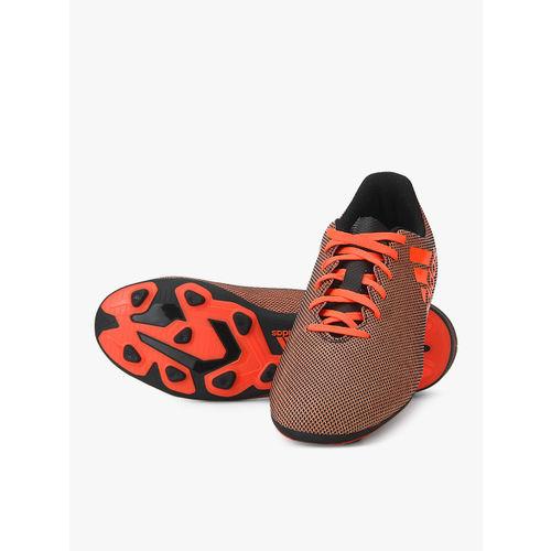 ADIDAS X 17.4 Fxg J Peach Football Shoes