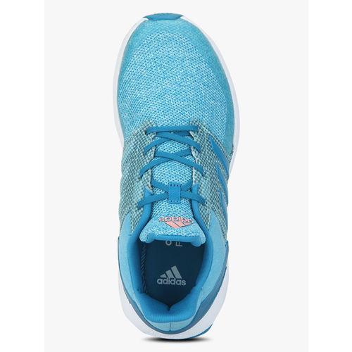 ADIDAS Rapidarun K Aqua Blue Running Shoes