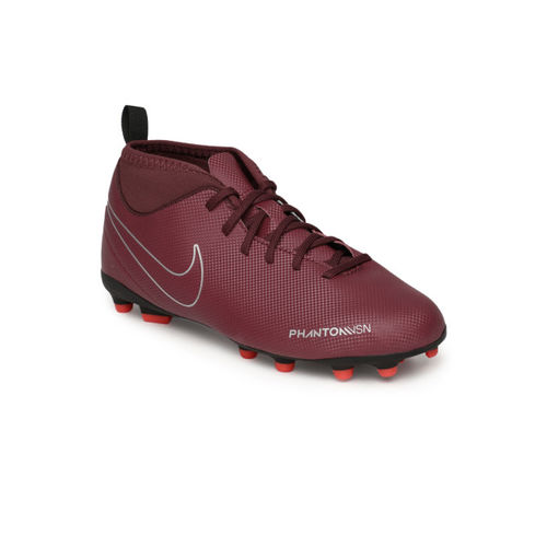 Nike Kids Maroon JR OBRA 3 CLUB DF MG Football Shoes