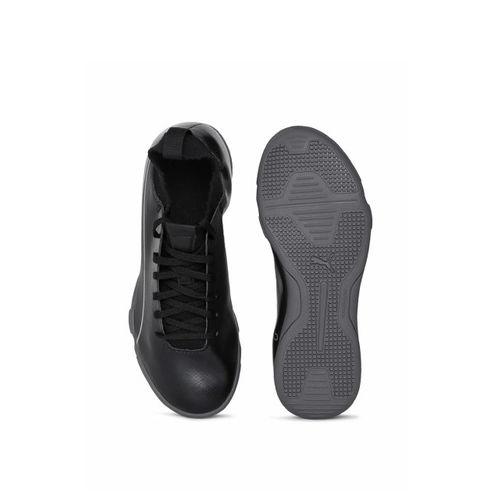 Puma Boys Black evoKNIT FTB II IT Jr Football Shoes