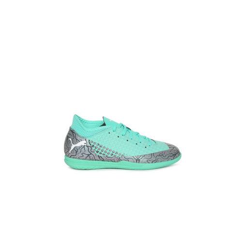 Puma Boys Blue FUTURE 2.4 IT Jr Football Shoes