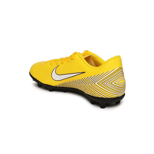 Nike Kids Yellow JR VAPOR 12 CLUB GS NJR MG Football Shoes