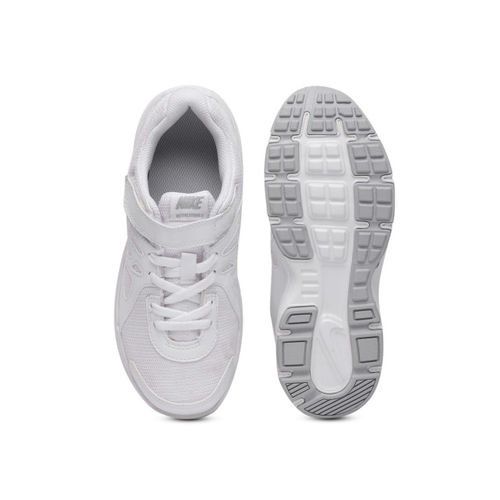 Nike Boys White Running Shoes