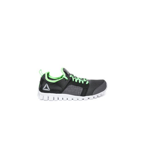 Reebok Boys Grey & Black AMAZE RUNNER JR XTREME Sports Shoes