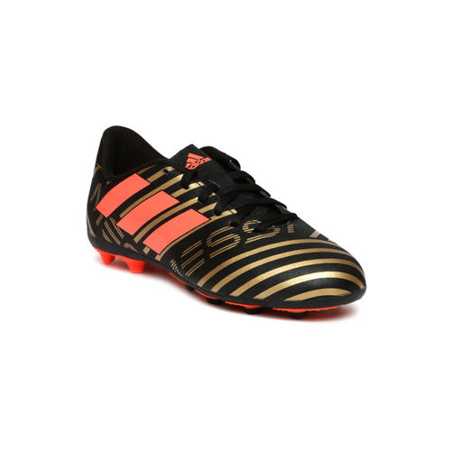 ADIDAS Boys Black Printed Nemeziz Messi Football Shoes