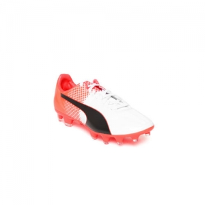 Puma Unisex Off-White Football Shoes