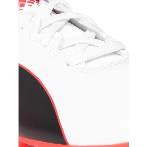 Puma Unisex Off-White Football Shoes