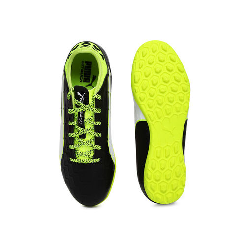 Puma Kids Black evoTOUCH 3 TT Jr Football Shoes