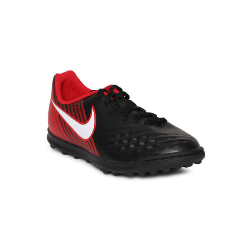 Nike Unisex Black JR MAGISTAX OLA II TF Football Shoes