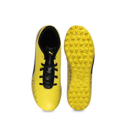 Puma Unisex Yellow Badminton Shoes