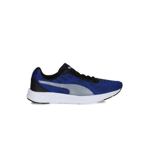 Puma Kids Unisex Blue Meteor Jr Running Shoes