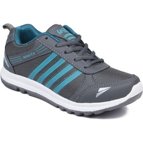 Asian Boys Lace Running Shoes(Grey)