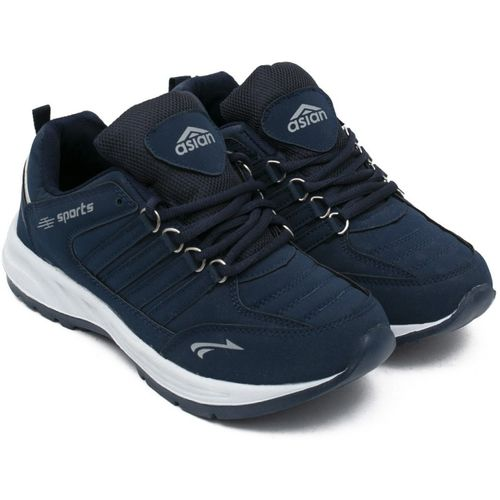 Asian Boys Lace Running Shoes(Blue)