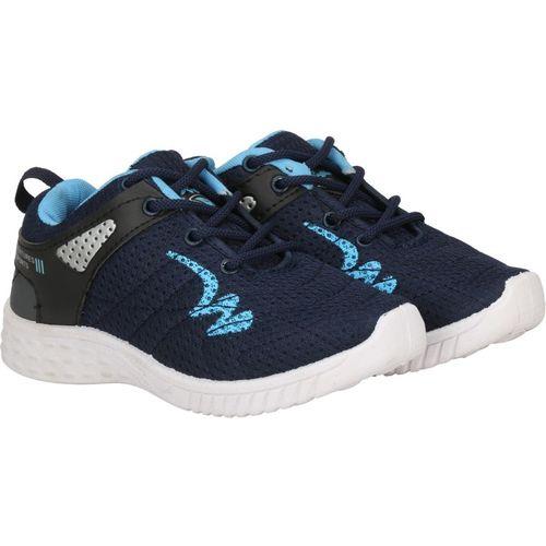 Claptrap Boys Lace Running Shoes(Blue)
