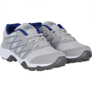 Lancer Boys Lace Running Shoes(Grey)