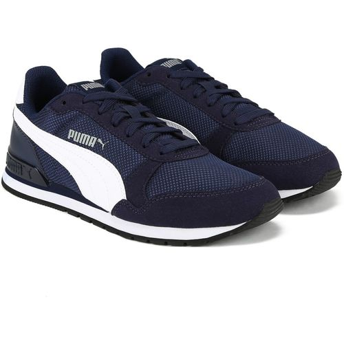 Puma Boys Lace Running Shoes(Dark Blue)