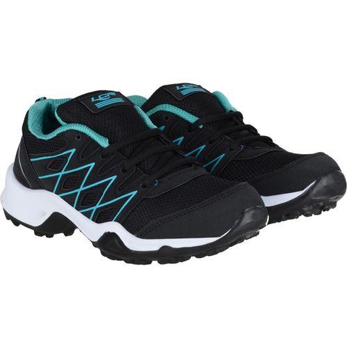 Lancer Boys Lace Running Shoes(Black)
