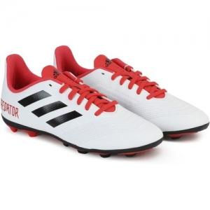 ADIDAS Boys Lace Football Shoes(White)