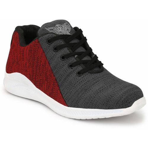 footstair footstair Boys Lace Running Shoes(Red)