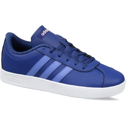 ADIDAS Boys Lace Tennis Shoes(Blue)