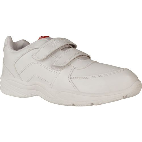 Bata Boys Velcro Running Shoes(White)