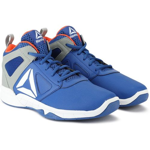 REEBOK Boys Lace Basketball Shoes(Blue)