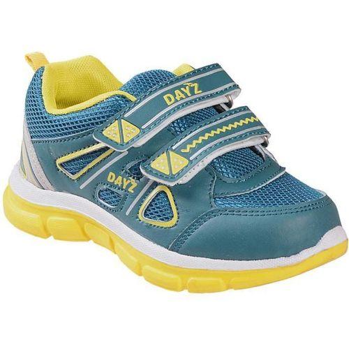 Dayz Boys Velcro Walking Shoes(Green)
