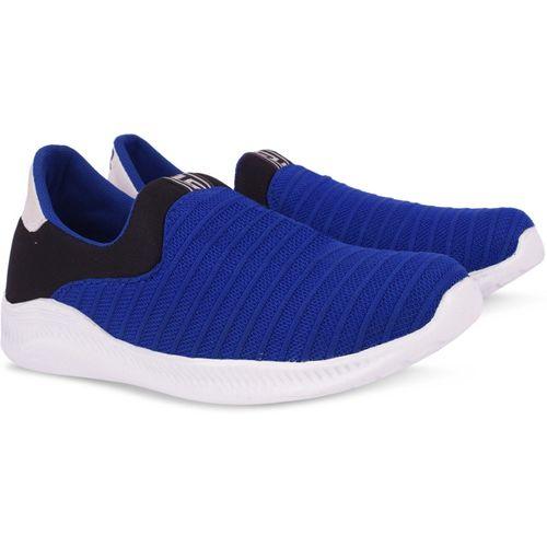 Krafter Boys Slip on Walking Shoes(Blue)