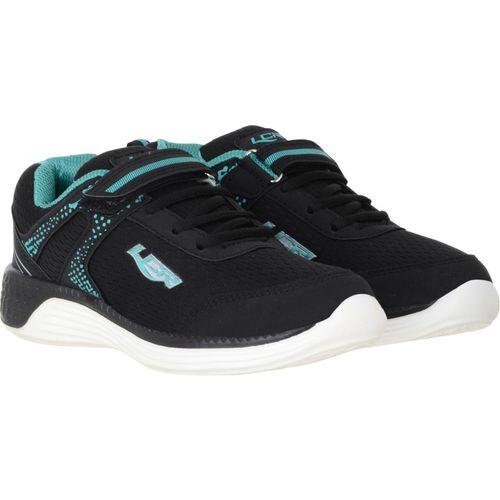 Lancer Boys Velcro Running Shoes(Black)