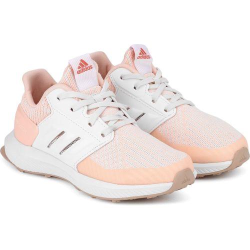 ADIDAS Boys Lace Running Shoes(Orange)