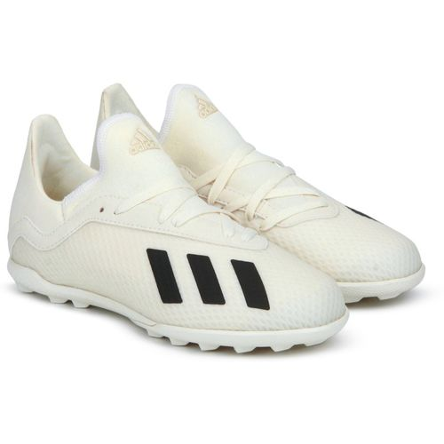 ADIDAS Boys Lace Football Shoes(Beige)