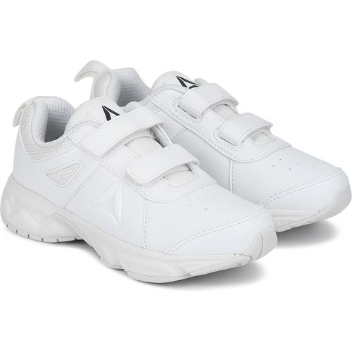 REEBOK Boys Velcro Running Shoes(White)