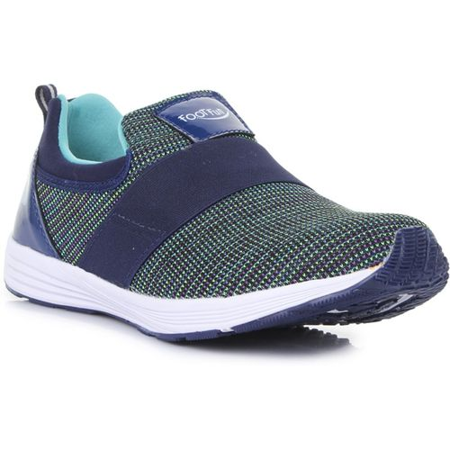 Liberty Boys Slip on Running Shoes(Dark Blue)