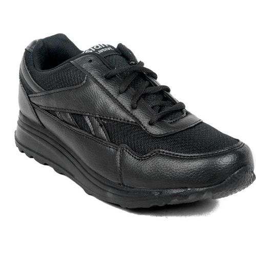 Asian Boys Lace Walking Shoes(Black)